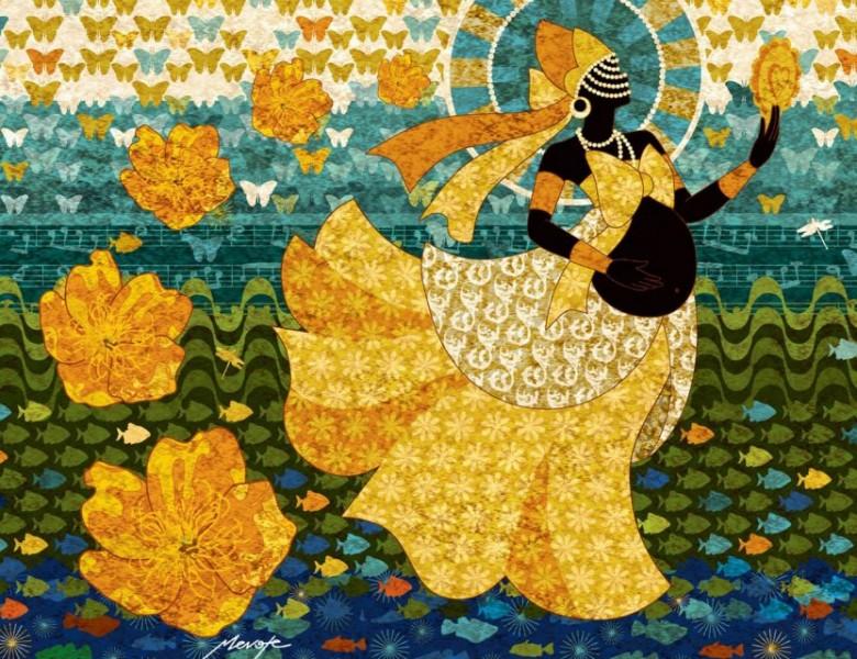 Ponto de Oxum - É no bailar, baila Oxum