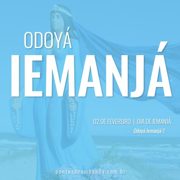 02 de fevereiro - Dia de Iemanjá