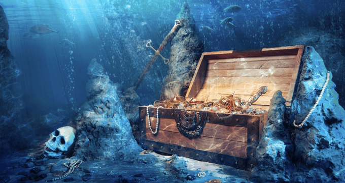 Ponto de Marinheiro - No fundo do mar tem dinheiro